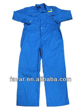 EN533 royal blue oil field fr flame proof cotton coverall work garment