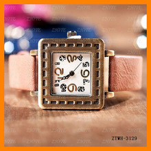 New Concept Leather Square Watches Man Wholesale ZTWH-3129