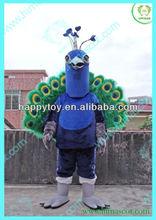 HI hot sale peacock mascot costume