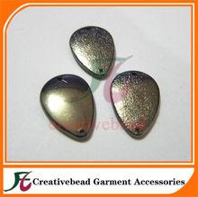 sew-on teardrop plating beads