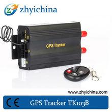 Rastreador de Carros e Motos TK103B for car easy to install ,gps tracking device for vehicle resume management system