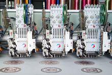 Lj - sequin double sequin broderie informatisé machine