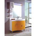 de alta calidad de cuarto de baño de madera sólida del gabinete con un tazón de cerámica