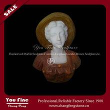 Vente directe d'usine buste en marbre sculpté