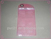 Clear PVC makeup eyelash curler packing bag