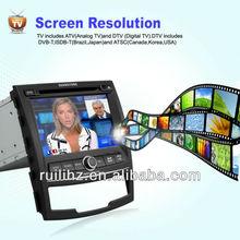 Ssangyong Korando Car DVD built-in GPS /Bluetooth/ Am/Fm Radio/Tv