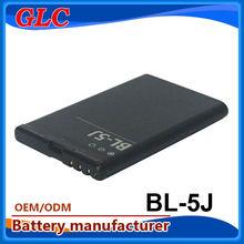 3.7V 1200mAh li-ion battery BL5J battery for NOKIA mobile accessories dubai
