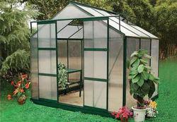 8*8ft garden aluminum frame green house