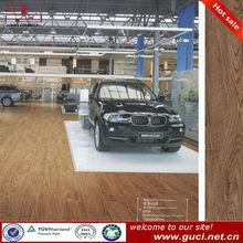 Floor tile wood finish