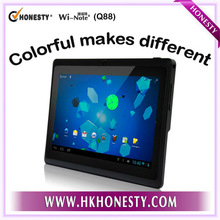 Cheapest & High-Quality! 7inch Android 4.1 A13 Cheapest Laptop Q88 with Wifi Camera