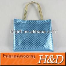 cheap laser film custom shopping beach tote bag