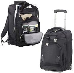 "Wheeled Carry-On Promotional Luggage with Compu-Sleeve - 21"""