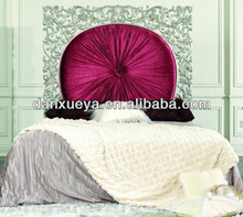 Red and silver bedroom furniture romatic king size love sun design bed