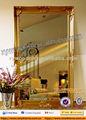 förderung gold spiegel rahmen aus holz wanddekoration