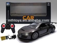 1:18 Audi 4CH RC car,with light RC car toys,4CH toys