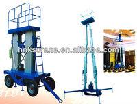 SJY Model Aluminium Mast Man lift crane