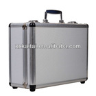 CD size lockable aluminum dvd storage case