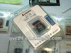 memory card PVC plastic packing box