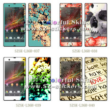 hard phone stickers for sony L36H
