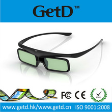 glass free 3d tv Universal 3D battery Infrared Active Shutter Glasses for 3D TVs compatible with Toshiba