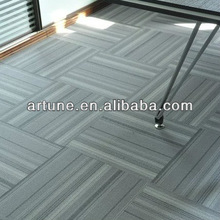 100%polypropylene machine knotted hotel and office carpet tile