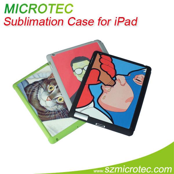 tpu back cover case for ipad 2/3
