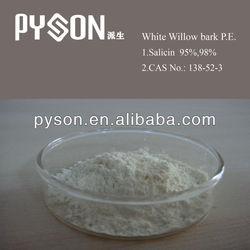 white willow bark extract powder Salicin 98% white Willow Bark P.E.& Salicin