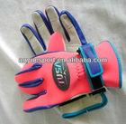 web-fingered neoprene swimming and diving gloves