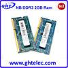 ETT original chips laptop parts android tablet 2gb ram ddr3