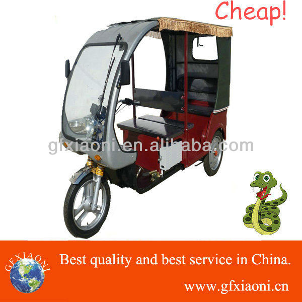 electric three wheeler tricycle for passenger