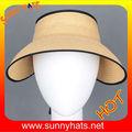Papel verão chapéus, Verão viseiras, Chapéu de sol viseira