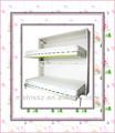 Caliente!- moderno hidaway plegable horizontal twin doble cama en la pared de madera para la habitación de los niños