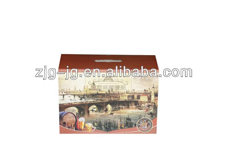 cardboard wine carriers