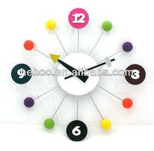 Modern clock ots / number clock