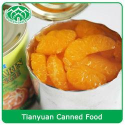 crop 312g,425g,3kg Canned Fruits Mandarin Oranges in Light Syrup