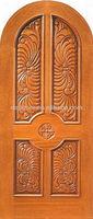Handmade Carved Solid Wood Doors Design DJ-S281