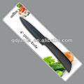 punho macio silicone utensílios de cozinha de cerâmica faca
