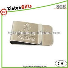 Customized brass money clip blank