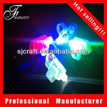 color laser finger beams led light