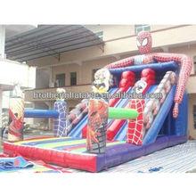 XD0610 spiderman inflatable slide,inflatable spiderman slides