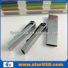 tie clip usb flash pen 8gb,usb flash pen 32gb,usb flash metal