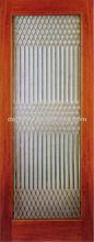 Decorative Glass Inserts Wooden Doors Interior DJ-S5202-1