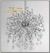 Sliver Metal Crystal Parlour Chandelier MD8003a L24