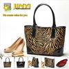 2013 leopard-print fur PU shoulder bag high quality pu leather tote bag