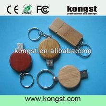 Hot sales Swivel Wood USB flip usb flash stick,usb disk/flash Bulk 1gb high quality promotion wood usb flash 2.0