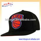 Flat peak 3d logo custom snapback cap/hat