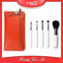 MSQ 8pcs or 5pcswhite makeup brushes with Chinese red bag