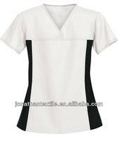 clothes for nurses /hospital clothes /design nurse white uniform JT-M-21