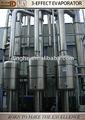 leche en polvo de producción del evaporador