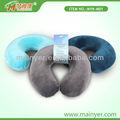 espuma de la memoria en forma de u almohada almohada para el cuello
